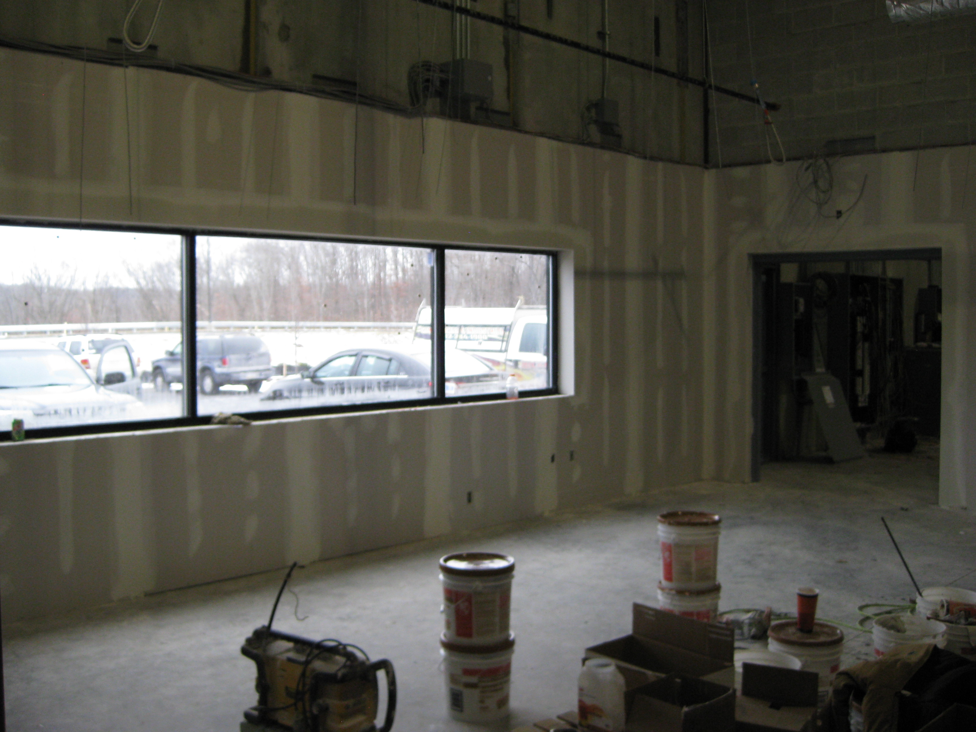 Office Area Build Out